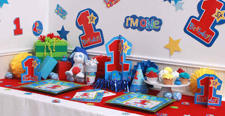 2nd birthday party themes boy party sharty for Baby boy 1st birthday decoration ideas