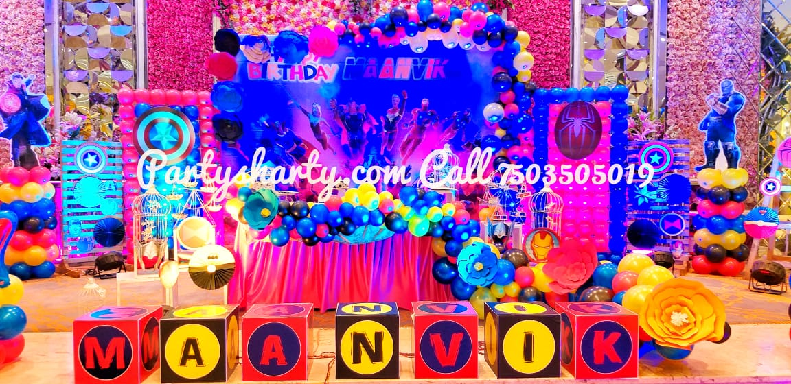 Avengers Birthday party theme for kids